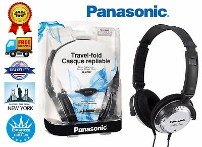 Genuine Panasonic Over Ear RP-HT227 Monitor Headphones with XBS Extra Bass