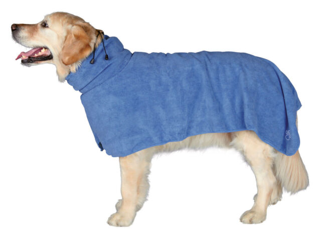 TRIXIE Dog Microfibre Drying Bathrobe Towel - After Walking, Bathing, ALL SIZES