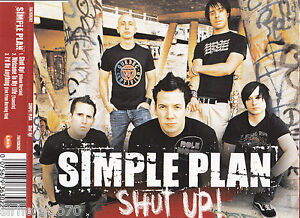 SIMPLE-PLAN-Shut-Up-CD-OZ-3-Track-CD-Single-EP-2004