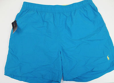 Polo Ralph Lauren Hawaiian Boxer Swimwear Trunks Blue Pink Turquoise Yellow NWT - $35.53
