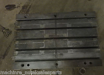 31.5 X 21.5 X 3 Steel Weld T-slotted Table Cast Iron Layout Plate Jig5 Slot