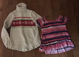 3 random items of clothing for girl size 5