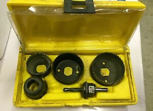 DISSTON HOLE SAW SET