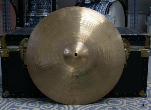 """1960s Zildjian A 20"""" Ride Cymbal 2010g"""