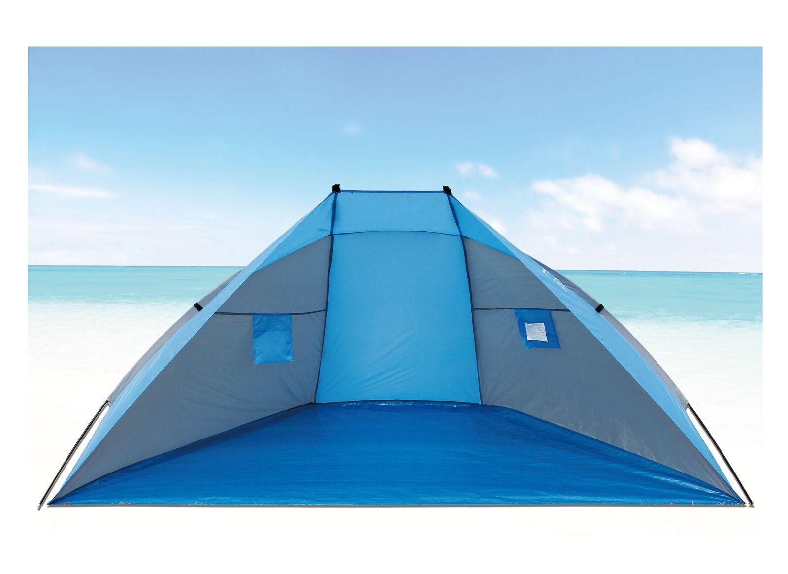 XL Explorer Strandmuschel 270cm UV 80+ Sonnenschutz Win…   04059865027314