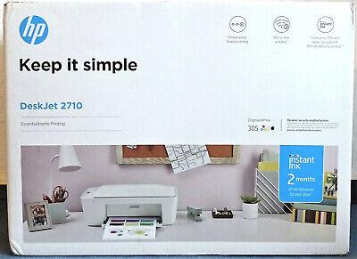 Drucker HP DeskJet 2710 Multifunktionsdrucker Weiß Wlan Scannen Kopieren