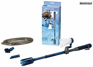 Aquarium ❤️ Mulmsauger + Pumpe ❤️Zubehör Staubsauger Bodenreiniger Schlammsauger
