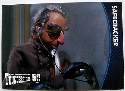 THUNDERBIRDS 50 YEARS - Card #14 - Gerry Anderson - Unstoppable Cards Ltd 2015