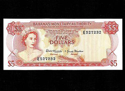 North & Central America Bahamas $1 Dollar Ms63 Ppq Pcgs 1965 Scwpm#18b Elizabeth Ii Unc Bu Ultra Choice