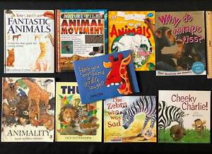 9 Animal themed children's picture books. $20 the lot.