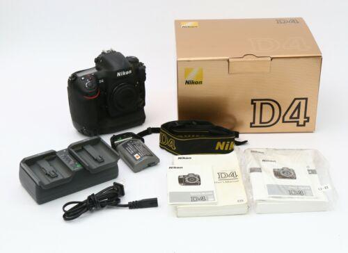 Nikon D D4 16.2 MP Digital SLR Camera (USA model) Shutter count ~36k