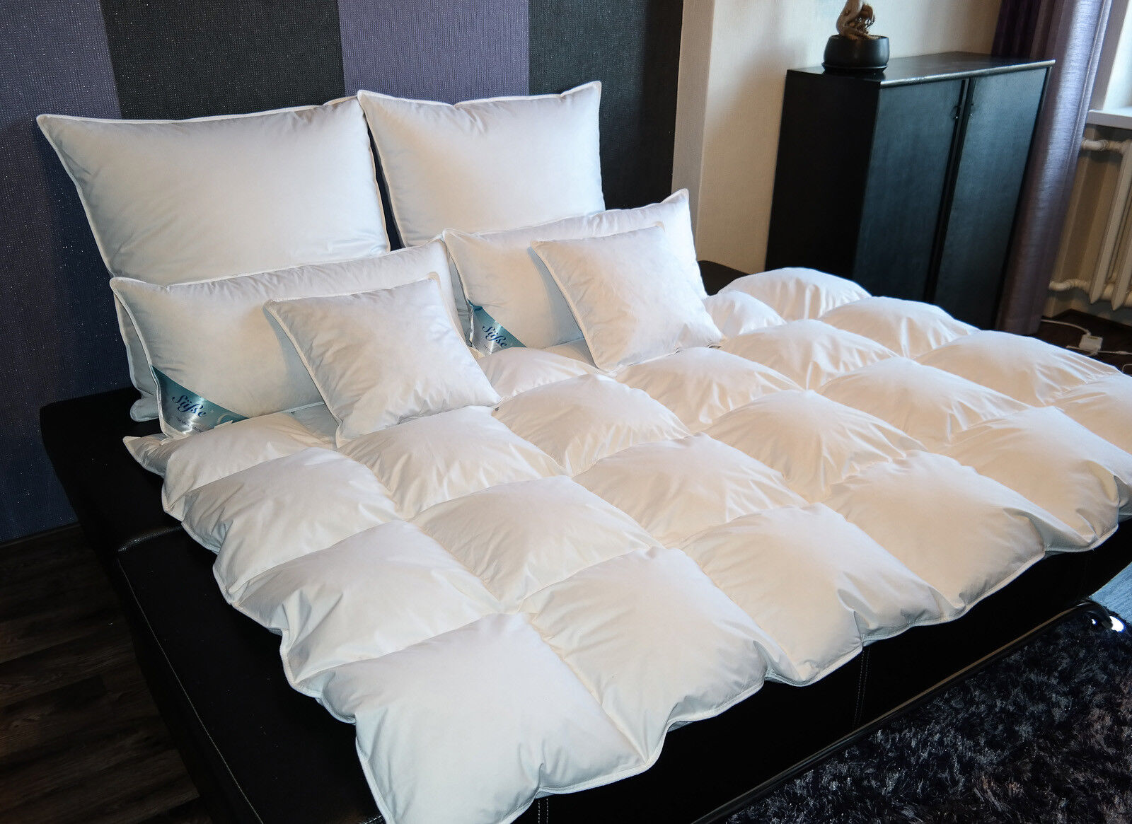 Decke Bettdecke Federdecke Daunendecke  5 Größen 42 Varianten kein Lebendrupf