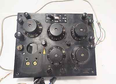 Leeds Northrup 5430-a Wheatstone Bridge For Parts