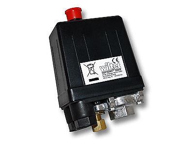 Druckschalter 230V für Kompressoren 10A 3-12bar Luftkompressoren Hauswasserwerke