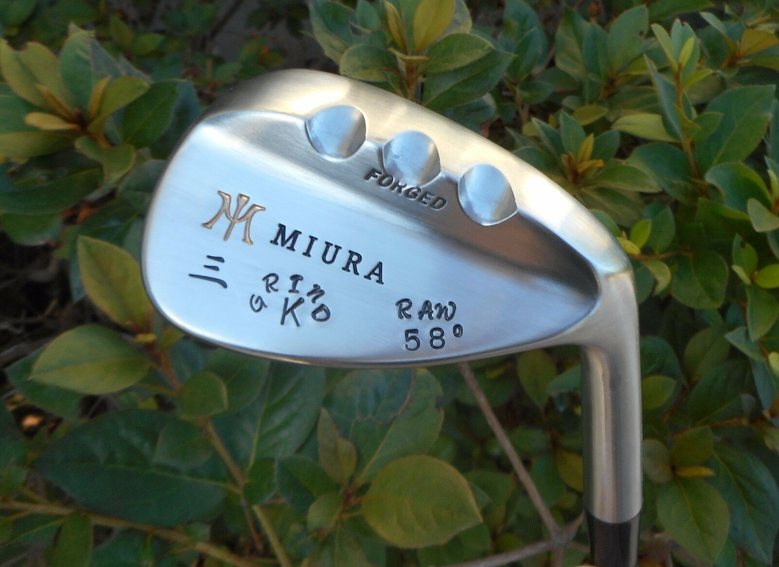 1 Miura Golf Custom RAW K Grind Sand Lob Wedge 50 52 54 55 5