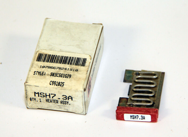 Eaton Cutler-Hammer MSH7.3A thermal Heater overload assembly