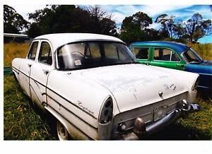 1958 Ford Zephyr Sedan Ben Lomond Guyra Area Preview