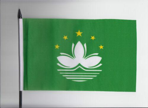 China Macau Region Medium Hand Waving Flag