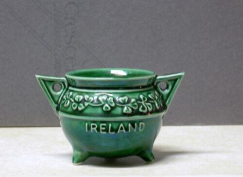 Vtg SylvaC Irish LUCKY CLOVER? Sugar Bowl 185 St Patrick