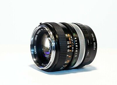 🔥 Sony Mirrorless Adapted Canon FD 50mm f/1.4 Prime Lens + Sony E-Mount Adapter