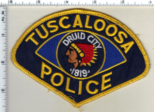 Tuscaloosa Police (Alabama) Shoulder Patch - uniform take-off from 1999