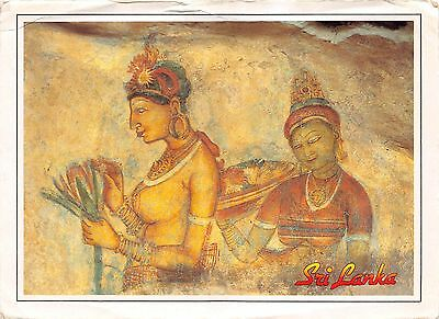 BR2290 Sigiriya Frescoes Sri lanka