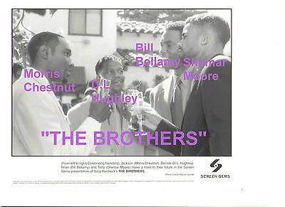 THE BROTHERS MORRIS CHESTNUT D.L. HUGHLEY BILL BELLAMY SHEMAR MOORE PRESS PHOTO
