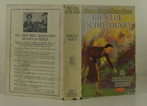 CAROLYN KEENE Nancy Drew Mystery Stories: The Clue in the Diary TRUE FIRST ED