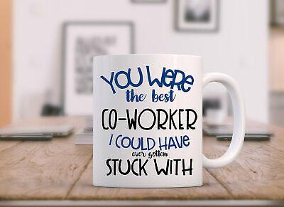 Retirement Mug Goodbye Coworker Coworker Leaving Farewell Gift For Coworker ()