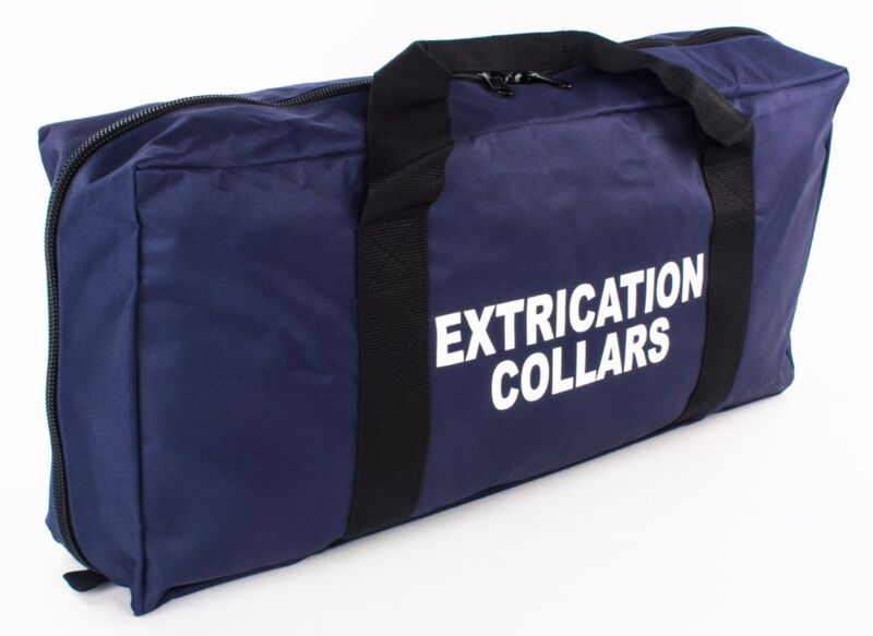 BRAND NEW DIXIE EMS NAVY CERVICAL EXTRICATION COLLAR BAG EMT MEDIC