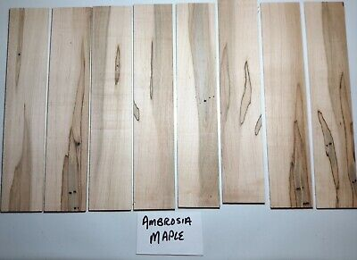 Bookmark Craft (Unsanded Craft Wood, Knife Scales, Bookmarks U Pick Species 1/8