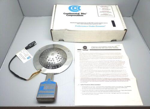 """NEW CONTINENTAL DISC CAL-VAC RUPTURE DISC 316855 4"""""""