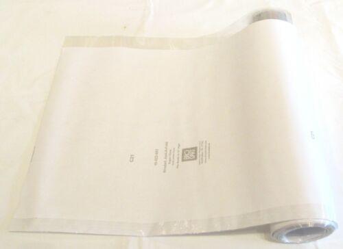 "5 yard roll 12"" Brodart Just-a-Fold Book Jacket Covers 2 MIL super clear mylar"