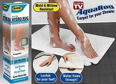 Non Slip Hydro Rug Aqua Carpet Mat For Shower Bath Water Area  Bathroom Safe UK