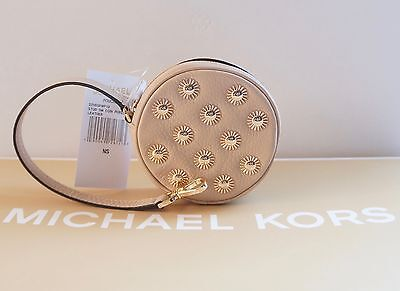 (NWT MICHAEL KORS STUDDED SMALL COIN PURSE / OYSTER)