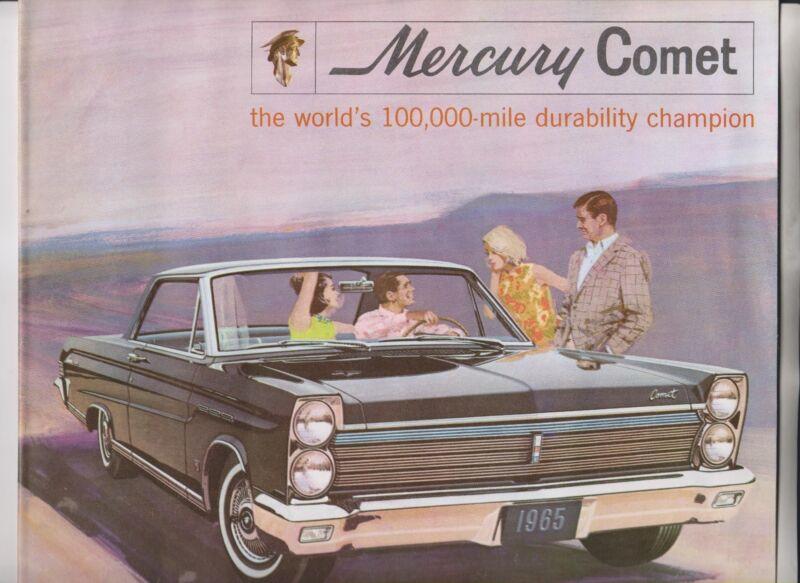 1965 SALES BROCHURE - MERCURY COMET