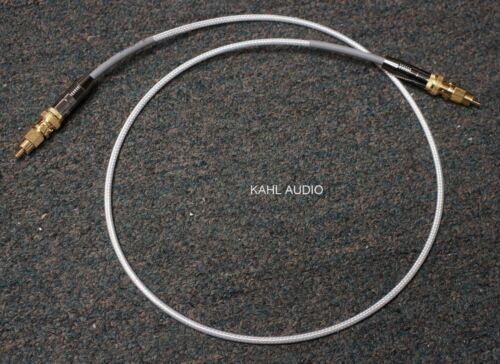 Nordost Silver Shadow 75 ohm digital cable, 1m BNC w/RCA adapters. DEMO $540