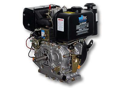 LIFAN 186 Dieselmotor 7,2kW (10PS) 25mm mit Lichtmaschine und E-Start 418ccm