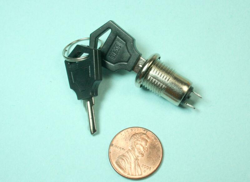 2 sets of  Mini Key Switch ON /OFF Switch Lock  Two Keys Key Set Ignition