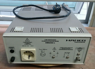 Hameg Hm6050-2 Line Impedance Stabilization Network
