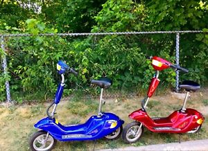TWO E-SCOOTER's FOR SALE!
