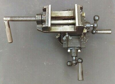Vintage Vicro-kuei 2-way 3 Super Compound Milling Vise Gs-s107-3