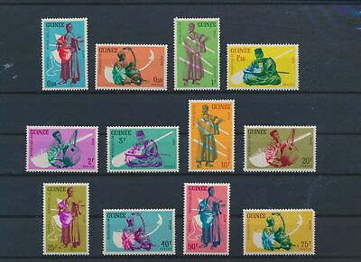 LO15351 Guinea traditional clothing folklore fine lot MNH