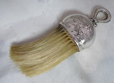Victorian Silver Cherubs Crumb Brush Henry Matthews Brmingham 1900 A602017
