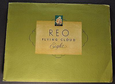 1931 Reo Flying Cloud Eight (8) Catalog Sales Brochure Excellent Original 31