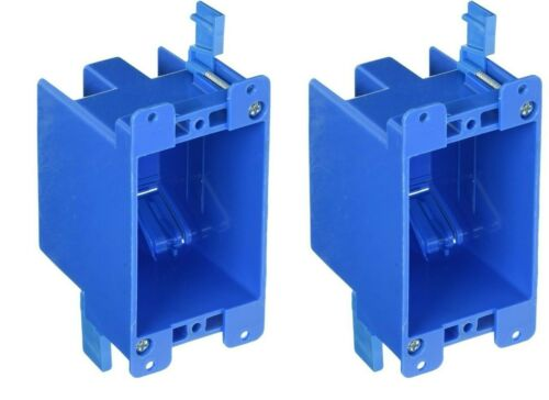 2 PACK B114R 1-Gang Old Work 14 cu in Switch & Outlet Electrical Box