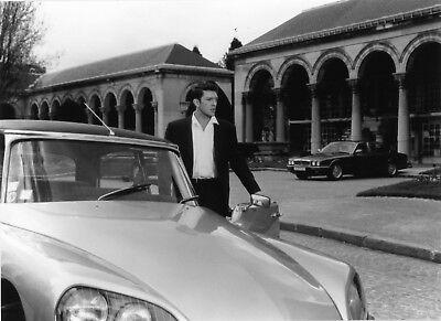 Photo originale vincent cassel l'appartement automobile citroën ds