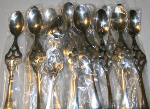 Brand new Lot of 100 New Absinthe #2 Hearts Spoons, made in France, Xlnt Quality