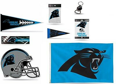 NFL Carolina Panthers Mini Pennant,Flag,Bumper Sticker,Bottle opener,Cling Decal