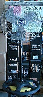 """Ventilador de Pie metálico 3 niveles de potencia 18"""" alta velocidad -2 unidades"""